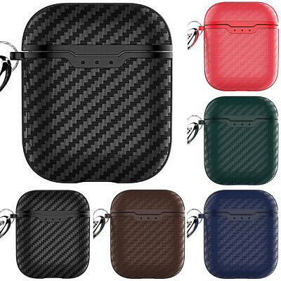 AU11.11 • Buy Protective Carbon Fibre Apple Airpod Case Cover Anti Lost Skin For Airpods 1 2