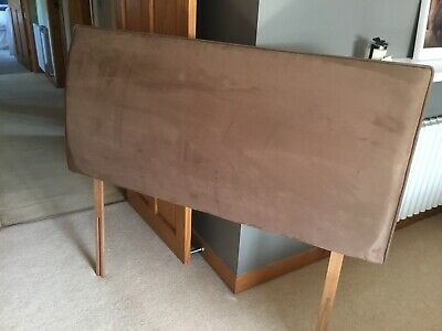 Double Bed Headboard Brown  • 30£