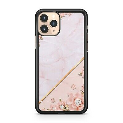 $ CDN10.30 • Buy Luscious Elegant White Cool Marble Pretty Flowers Pattern Camo Phone Case Cover