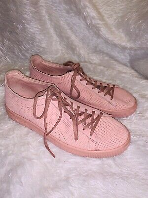Puma X Stampd Clyde Blush Pink / Rose Sneakers Size 8 US EU 40.5 EUC SOLD OUT • 36.88£