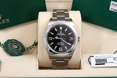 $ CDN11203.39 • Buy Rolex Explorer I 39mm - March 2020 - Box/Papers/Card 214270