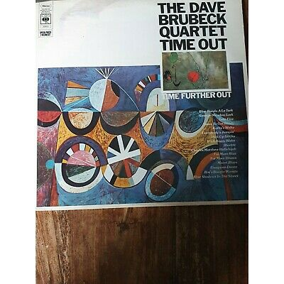 Dave Brubeck Quartet Time Out Further Out NM2 X Vinyl LP Record CBS 22013 • 20£