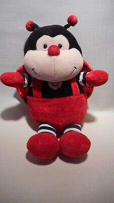Quality Brand New Love Bug Ladybird Soft Toy -  Cuddly - Cute - Plush - Insect  • 8.99£