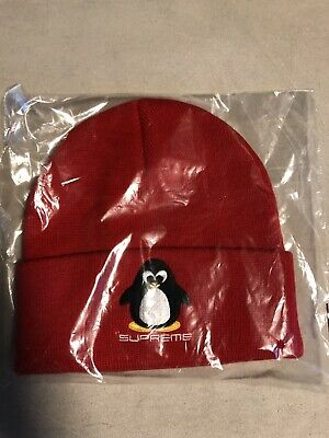 $ CDN106.67 • Buy Supreme Penguin Beanie - Red - Authentic