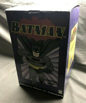 In Box Batman Ceramic Cookie Jar *exclusive And Rare* Vintage Limited  • 151.95£