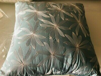 AU39.95 • Buy Yves Delorme Tropics LAGON Blue Cushion Pillow With Insert New France RRP$129
