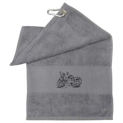 'Motorcycle' Cotton Golf Towel (GT018990) • 10.99£