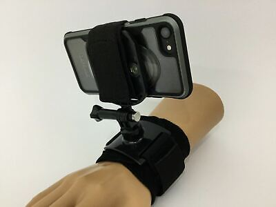 AU12.95 • Buy Phone Mount With Direct Attachment For Gopro Mounts Inc For Chest & Wrist AU NEW