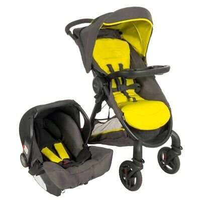 New Graco Fast Action Fold 2.0 Travel System Lime • 149.99£