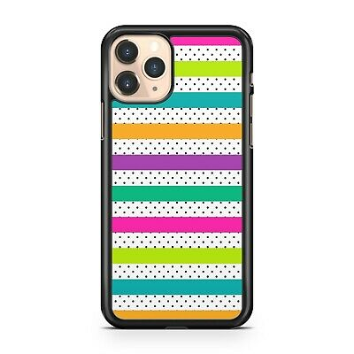 $ CDN10.30 • Buy Stunning Colourful Stripes Luscious Polka Dots Lovely Phone Case Cover