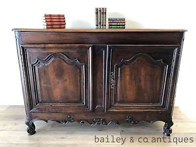 AU1575 • Buy Antique French Provincial Chestnut Buffet Sideboard Louis Style - PQ060