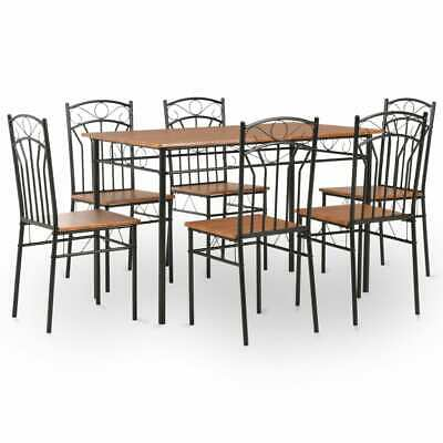 AU308.95 • Buy 6 Seater Dining Table And Chairs 7 Pcs Dinner Set High Quality Kitchen Furniture