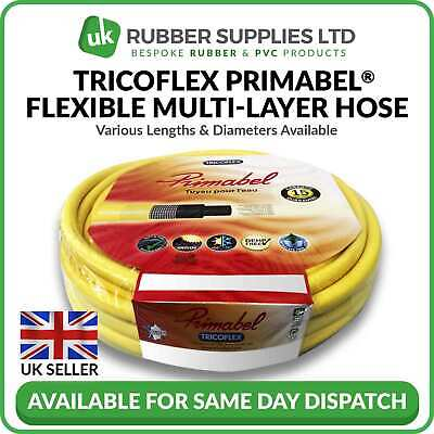 £52 • Buy Superior Quality Garden Hose Tricoflex Primabel Flexible Multi-Layer Pipe Yellow