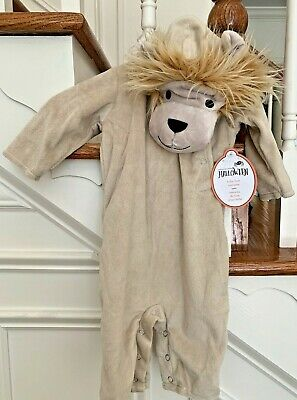 £24.01 • Buy Pottery Barn Kids Baby Lion Halloween Costume Size 0-6 Months NWT