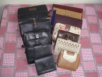 Purses Anna Robert Hotter Kidston M&s Radley Osprey Jane Shilton  Job Lot 14 • 29.95£
