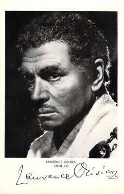 Olivier, Laurence - Signed Photograph In  Otello  • 89.68£