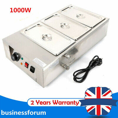 £155 • Buy 12kg Commercial Electric Chocolate Tempering Machine Melter W/3 Melting Pot USA