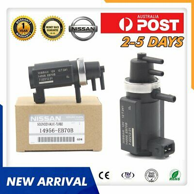 AU87.79 • Buy Nissan Turbo Vacuum Boost Solenoid Valve For Navara Pathfinder Yd25 14956-eb70b