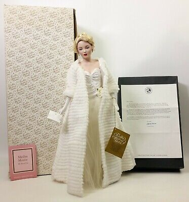 The Franklin Mint Marilyn Monroe All About Eve Porcelain Doll • 102.38£
