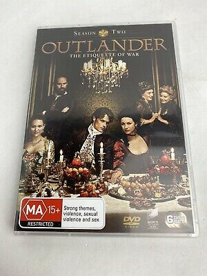 AU25 • Buy Outlander Season 2 Series Two DVD Region 4 NEW