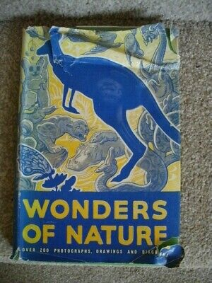 THE WONDERS OF NATURE., Tunnicliffe, C. F., Used; Very Good HB/DJ Book • 6£