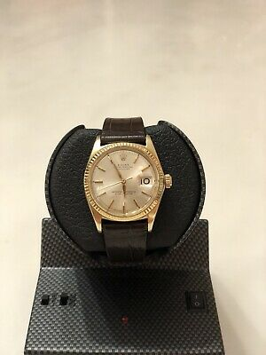 AU6500 • Buy Rolex 1601 Datejust In Solid 14K Yellow Gold