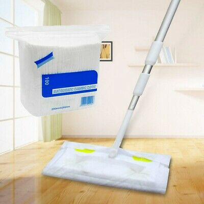Tile Laminate Static Cleaning Floor Cleaner Mop Sweeper With Wet Dry 100pc Wipes • 14.39£