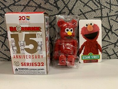$25.99 • Buy Medicom Bearbrick Series 32 S32 Cute Sesame Street  Elmo  Be@rbrick