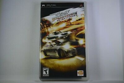 Fast And The Furious (Sony PSP) CIB Complete • 9.88£