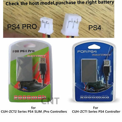 AU12.99 • Buy Battery +Cable For Sony Playstation PS4 Dual Shock 4 OR PS4 SLIM Pro Controller