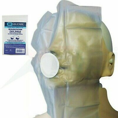 3 X CPR Resuscitation Face Shield With Filter First Aid Resus • 2.45£