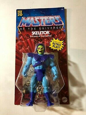 $27.99 • Buy Masters Of The Universe Origins Skeletor 5.5 Action Figure Case Fresh Unpunched