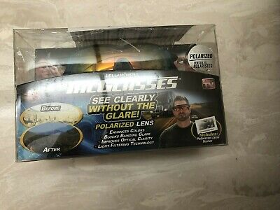 AU17.43 • Buy  Bell And Howell Tac Glasses Sports Polarized Sunglasses Outdoors Damaged Box