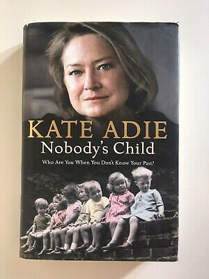 £5 • Buy Nobody's Child By Adie, Kate Hardback Book The Cheap Fast Free Post