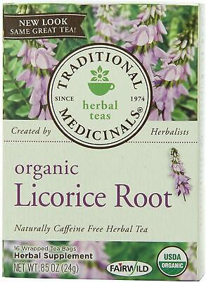Organic Licorice Root Tea By Traditional Medicinals • 7.60£