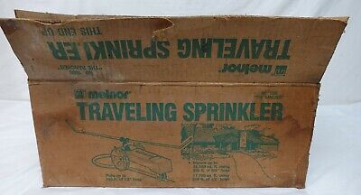 AU230.77 • Buy Antique Vtg Melnor Cast Iron Traveling Lawn Tractor Sprinkler The Rancher