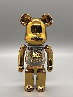 $269 • Buy Authentic Medicom Chogokin Bearbrick My First Baby 200% Gold+Silver US Seller