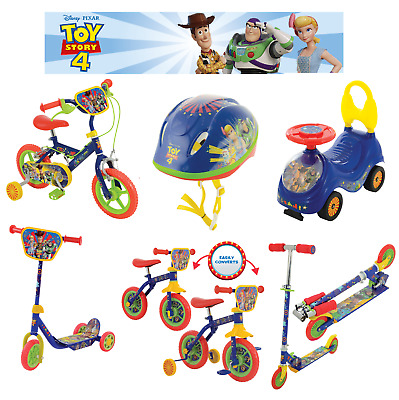 AU170.75 • Buy Toy Story Tri-Scooter,Safety Helmet,Buzz 6V Quad Bike - FAST & FREE DELIVERY