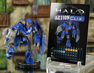 Halo ActionClix #085 Hunter With Fuel Rod W/ Card WizKids • 5.99£