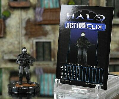 Halo ActionClix #018 ODST With Battle Rifle W/ Card WizKids • 3.49£