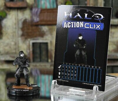Halo ActionClix #017 ODST With SMG W/ Card WizKids • 3.49£