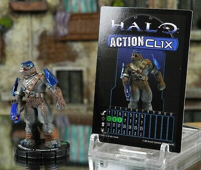 Halo ActionClix #032 Brute Major With Plasma Rifle W/ Card WizKids • 3.99£