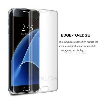 $ CDN3.70 • Buy CANADA FAST Samsung Galaxy S7 Edge Curved Clear Front Protector PET Plastic Film