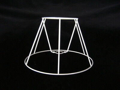 Straight Empire Lampshade Frame  6  X 12  X  7.5  Height • 8.50£