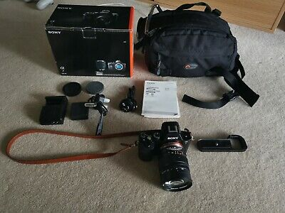 AU1850 • Buy Sony Alpha A7 24.3MP Digital Camera /w 50mm T0.95 Lens And A Lot Of Accessories