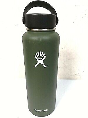 $26.99 • Buy Hydro Flask 40 Oz Wide Mouth W/ Flex Cap Insulated Water Bottle GREEN - 0Q_62