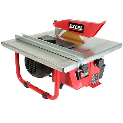 £57.99 • Buy Excel Tile Cutter 180mm Electric Water Cooled Diamond Blade Saw Tiling Ceramic
