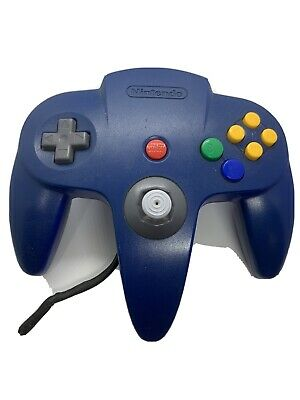 AU67 • Buy Genuine  Nintendo 64 Controller - Blue N64- Free Express Post- Good Stick