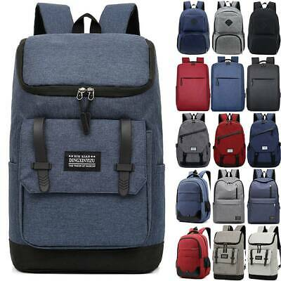 AU24.50 • Buy Men Women Backpack Travel Camping Casual Shoulders Rucksack Laptop School Bag AU
