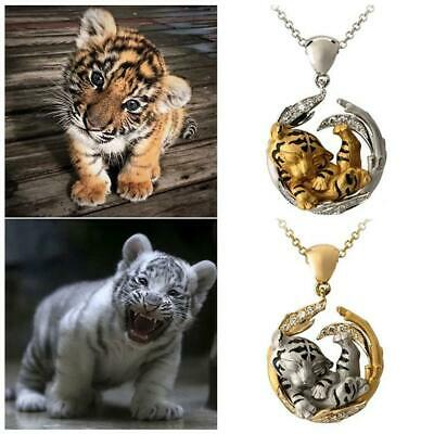 AU3.07 • Buy Animal Tiger Pendant Necklaces For Women Natural Animal Charm Necklace Jewelry